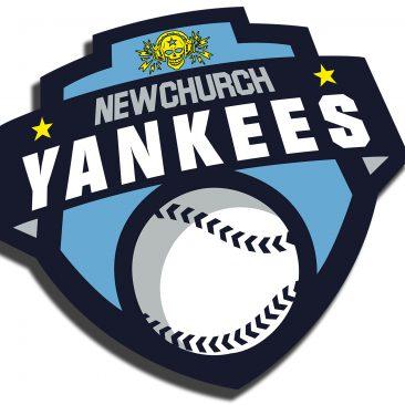 """Visuals und Werbedrucksachen """"New Church Yankees"""""""
